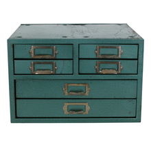 Industrial 6-Drawer Desk Organizer C1965