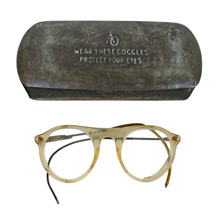 Pair of American Optical Protective Glasses With Case C1920