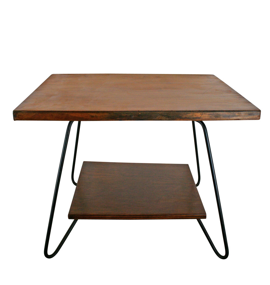 Hairpin Leg Coffee Table C1960 Rejuvenation