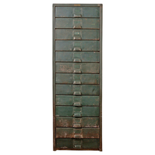 Rustic Industrial Multi-Drawer Unit by Hobart c1945