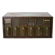 Industrial 6-Drawer Filing Cabinet C1945