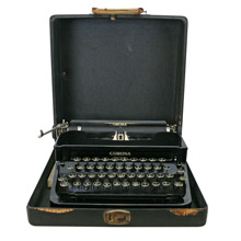 Vintage Portable Typewriter by Smith-Corona C1938