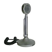 Polished Chrome Astatic D-104 Microphone C1960