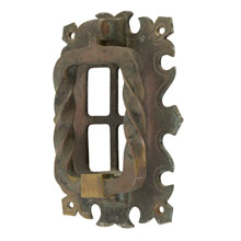 Impressive Arts & Crafts Door Knocker C1915