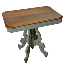 Eastlake Victorian Side Table in Walnut c1875