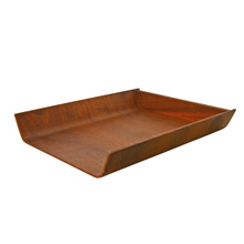Teak Paper Tray by Florence Knoll c1955