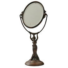 Art Nouveau Shaving Mirror c1910