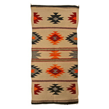 Small Navajo Saddle Blanket c1930s
