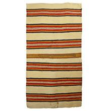 Vintage Navajo Double Saddle Blanket c1940s