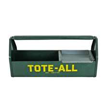 Vintage Tote-All Workshop Tool Box C1960