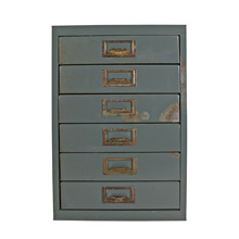 Rustic Office Stationary Cabinet C1955