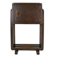 Art Deco Humidor With Brass and Bakelite Details C1935