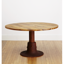 Salvage Streetlamp Dining Table