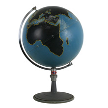 Incredible Denoyer-Geppert Desk Top Globe C1940s