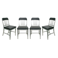Set of Four Emeco Side Chairs C1970