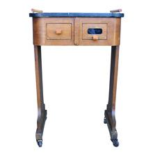Charming Art Deco Barbershop Table C1940