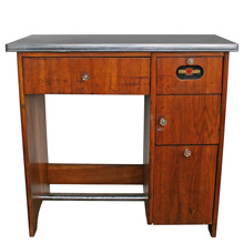 Art Deco Doctor's Sterilizer Desk C1920s