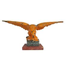 Cast Iron Eagle Finial C1905