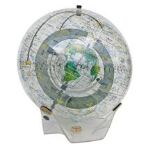Farquhar Transparent Lucite Celestial Globe C1977