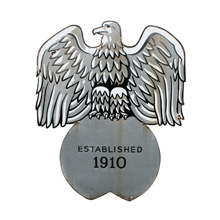 Early Enamel Eagle Sign C1930s