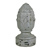 Monumental Cast Iron Streetlight Finial C1900