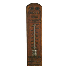 Oculist's Advertising Thermometer C1880