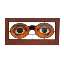 Optician Stained Glass Window Trade Sign C1910