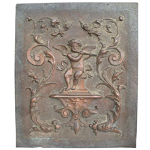 Victorian Copper Repousse Plaque C1890s