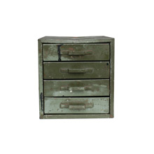 Industrial Green Metal Parts Cabinet C1930