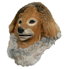 Vintage Lion Amusement Park Mask C1930s