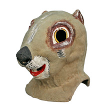 Vintage Chipmunk Amusement Park Mask C1930s