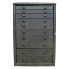 Industrial 10-Drawer Garage Cabinet C1945