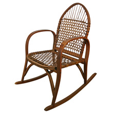 W.F. Tubbs Sno Shu Rocking Chair C1915
