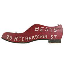 Best's Shoe Repair Trade Sign C1915