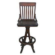 Allen Chair Company Drafting Stool C1920