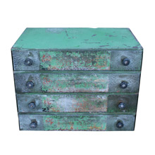 Wonderfully Worn Industrial Springs Cabinet C1935