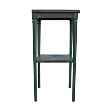 Small Simmons Green Painted Side Table C1930