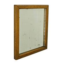 Small Oak Ghost Mirror c1930