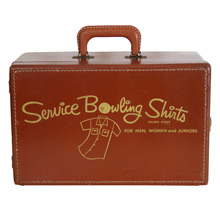 Service Bowling Shirts Sample Case C1955