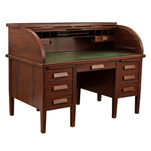 Art Metal Roll Top Desk w/ Original Finish c1930