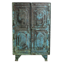 Amazing Faded Blue Armoire C1935
