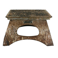 Morton Railroad Step Stool C1920
