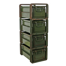 Stackbin Company Four Drawer Unit C1930