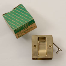 New Old Stock Slide-Lok Door Hardware w/ Original Packaging C1950