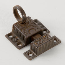 Eastlake Transom Window Latch, c1885