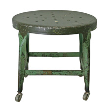 U.S. Government Industrial Shop Stool by Toledo C1945