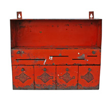 Industrial Mend Rite Cabinet C1960s