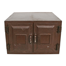 War-Era Metal Storage Cabinet C1940s