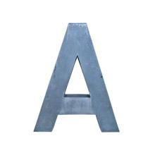 Cast Aluminum Letter A C1960s