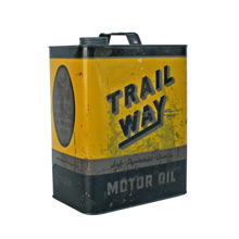 Trail Way Motor Oil Can C1930s